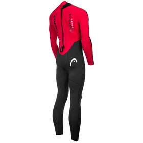 Head ÖTILLÖ Swimrun Rough Suit Men Black/Red